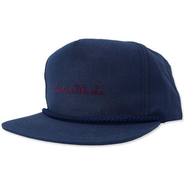 "【LimitedEdition】CREIGHT CUSTOMWORKS ""5PANEL CAP"" / NAVY"