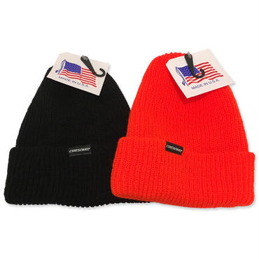 "CREIGHT""LOGO BEANIE"" / BLACK,ORANGE 2color"
