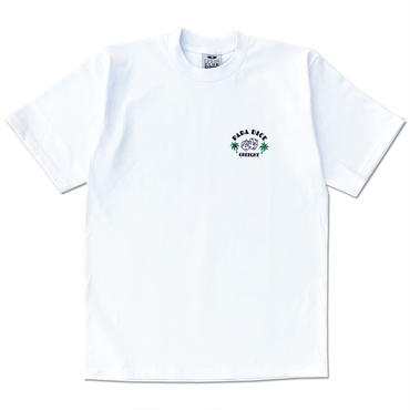 "CREIGHT ""DICE 6.5oz TEE"" / WHITE"