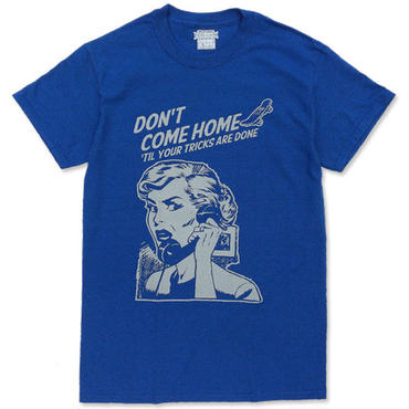 "CREIGHT ""SPARTA MOM TEE"" / ANTIQUE ROYAL"