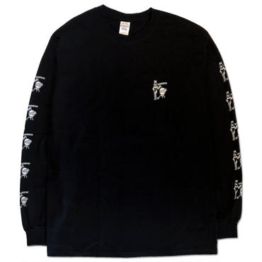 "CREIGHT ""BEST HOLIDAY SPOT L/S TEE"" / BLACK"
