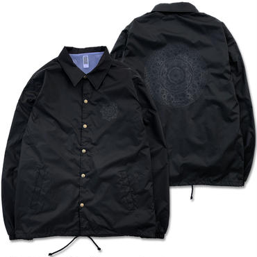 "CREIGHT×Takumi Tosaki ExclusiveCollection""曼荼羅 CUSTOM COACH JKT"" / BLACK on BLACK"
