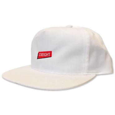 """【再入荷】CREIGHT """"UNSTRUCTURED CAP"""" / WHITE"""
