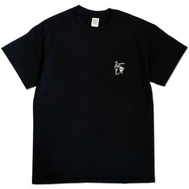 "CREIGHT ""BEST HOLIDAY SPOT TEE"" / BLACK"