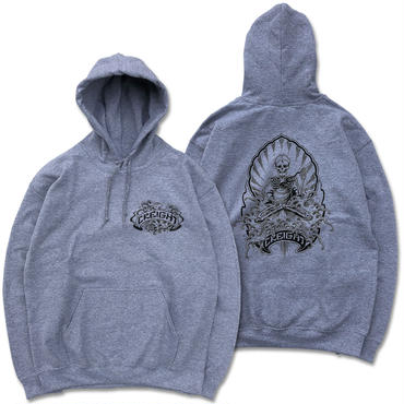 """CREIGHT×野坂稔和 """"波乗仙人図"""" PullOver / H.GRAY"""