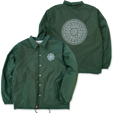 "CREIGHT×Takumi Tosaki ""曼荼羅 CUSTOM COACH-JKT"" / D.GREEN"