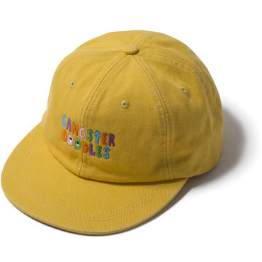 GANGSTER DOODLES CAP by GANGSTER DOODLES (YELLOW)【CC17AW-020】