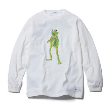 FROG LONG SLEEVE TEE : YUNG LENOX(WHITE)【CC17AW-015】