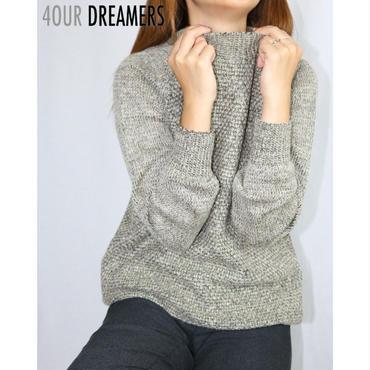 4OUR DREAMERS(フォーアワードリーマーズ)MARLED EFEECT SWEATER マールド エフェクト セーター