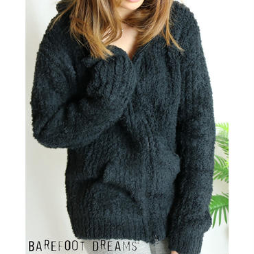 BAREFOOT DREAMS COZY CHIC ADULT RIBBED HOODIE コージーシックアダルトリブフーディー