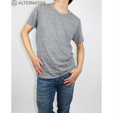 Alternative Apparel(オルタナテ ィブアパレル) Eco-Jersey Crew T-Shirt クルーネックT