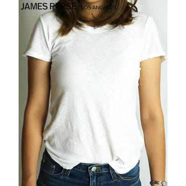 JAMES PERSE SHEER SLUB CREW NECK TEE シアースラブクルーネックT