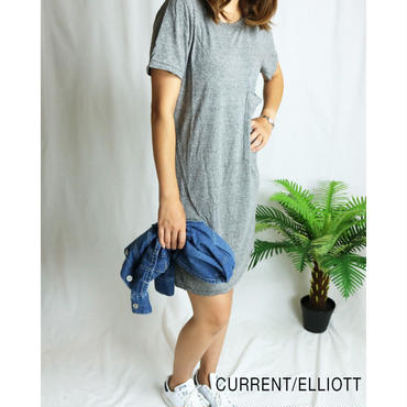 CURRENT ELLIOTT THE EX BOYFRIEND TEE DRESS ボーイフレンドTシャツ