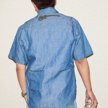 JYUUNANHEARTのシャンブレーシャツ