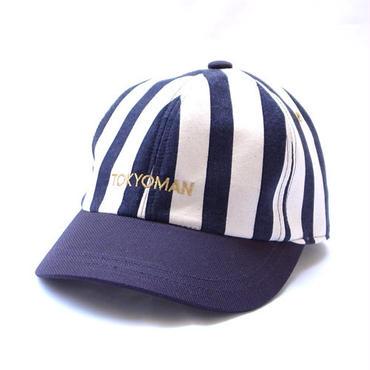 TONBOWのT.M STRIPE CAP