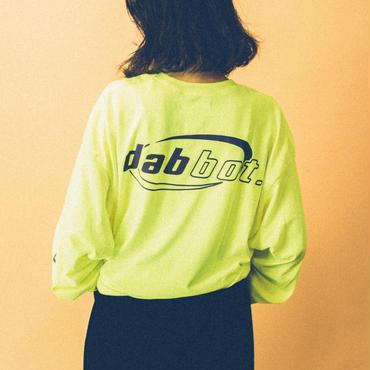 back&sleeve logo long-tee(yellow)