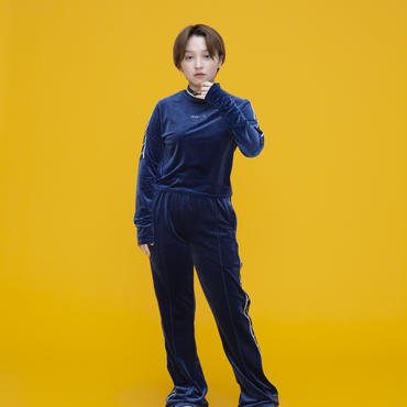 Dabbot Velours Pants(Blue)