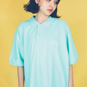 dabbot silhouette polo- shirt (mint)