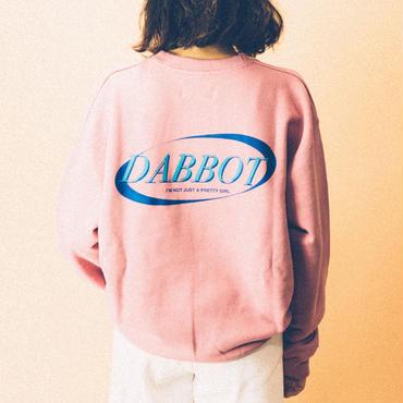 new big back logo sweat(pink)