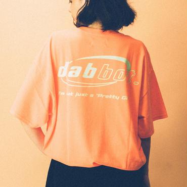 big logo tee(orange)