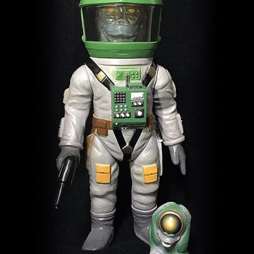 【LIMITED TOY】山吉屋オリジナル 未来猿人ヤマキチ (SAL9000指人形付) 駄玩具堂 & DELAYED BRAIN 限定カラー