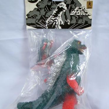 ポピー 復刻キングザウルス ゴジラセット(ST&ミニ)リミテッドスプレーバージョン(銀)