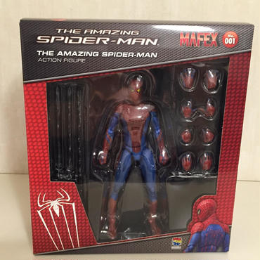 MEDICOMTOY: MAFEX THE AMAZING SPIDERMAN