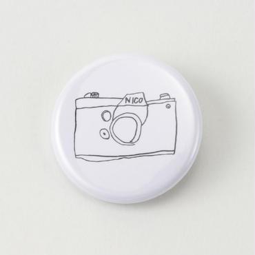 Children's Drawings カンバッジ(camera)