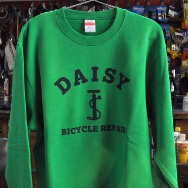 DAISY BICYCLE REPAIR SWEAT SHIRT