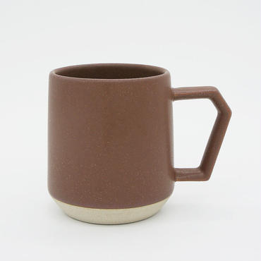 【C001br】CHIPS mug. MAT brown
