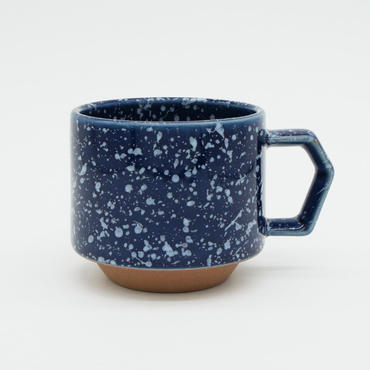【CS002nw】CHIPS stack mug. SPLASH navy-white