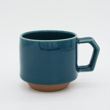 【CS010】CHIPS stack mug. SOLID COLOR d.green