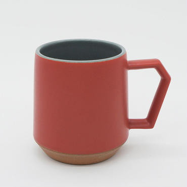 CHIPS mug. TWO-TONE red-gray