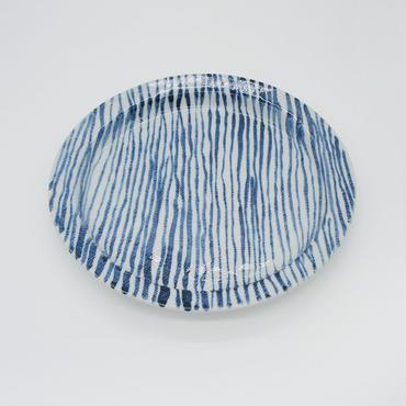 【パンとごはんと...】しましまのお皿 PLATE L 細駒筋