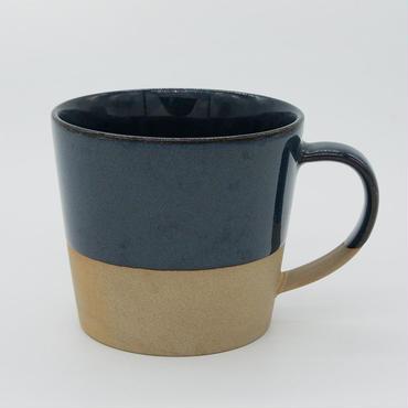 【パンとごはんと...】MUG CUP navy