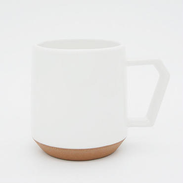 【C008】CHIPS mug. SOLID COLOR white