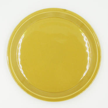 【CP009】CHIPS plate. SOLID COLOR mustard
