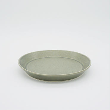 【M033gy】パンとごはんと... CAFE PLATE S  gray