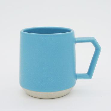 CHIPS mug. MAT sand-turquoise