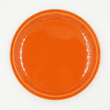 【CP011】CHIPS plate. SOLID COLOR orange