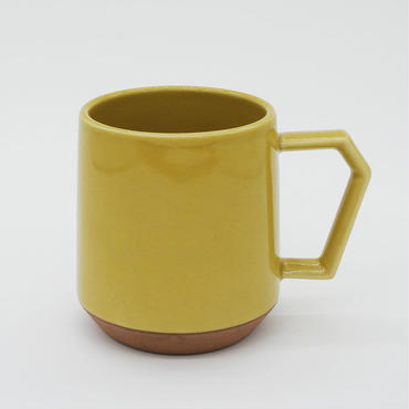 CHIPS mug. SOLID COLOR mustard