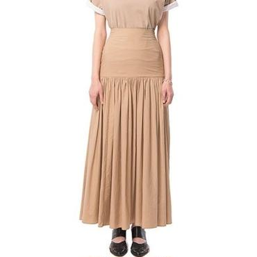 CLANE  GATHER MAXI SKIRT