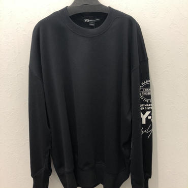 Y-3 GRAPHIC  CREW SWEATER  スウェット