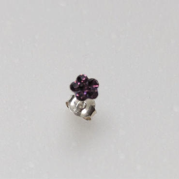 small earring   ダークピンク
