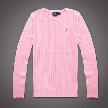 ピンク 新作ポロ・ラルフローレンスウェット 男女兼用 刺繍ロゴ インナーアウター両用
