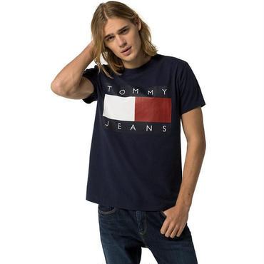 新入荷★トミーヒルフィガーtシャツ 2色選! 男女兼用 オシャレ ファッション 紺色 白