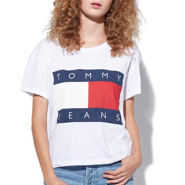 トミーヒルフィガー男女tシャツ 4色選! カジュアルtシャツ 半袖 ペアルック用 カップル
