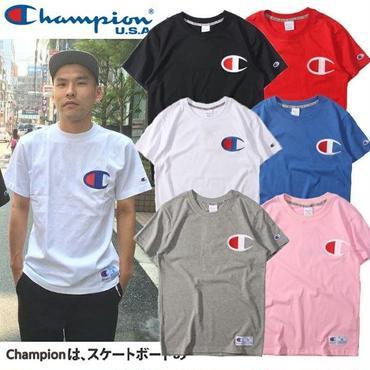 チャンピオンtシャツ 男女兼用 人気半袖 カジュアル ペアルック用 可愛いtシャツ
