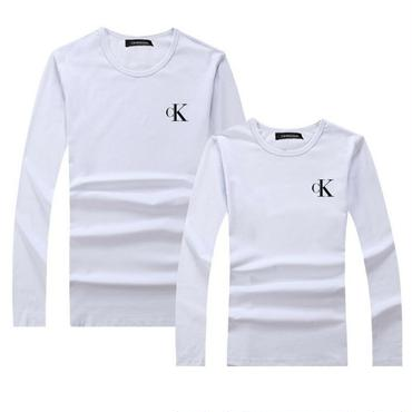 ホワイト カルバンクラインCalvin Kleinトレーナー 男女サイズ レディース メンズ 長袖シャツ Calvin KleinTシャツ