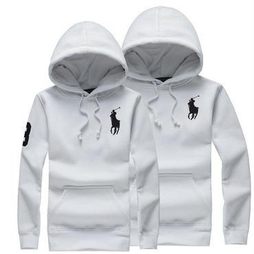 ポロパーカー ホワイト 白 高品質 男女兼用 オシャレ 人気美品 メンズ レディース couple ペアルック ポロ ラルフローレン